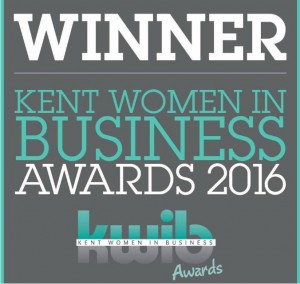 WINNER: Kent Women in Business Awards 2016