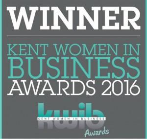 WINNER: Kent Women in Business Awards 2016
