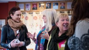 Photo of women at a networking meeting in Kent