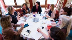 Photo of ladies at Business Mastermind support group, Kent