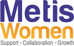 Metis Women Alternative Logo: Support - Collaboration - Growth