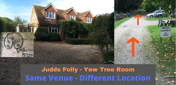 Judds Folly Yew Tree Same Venue - Different Location